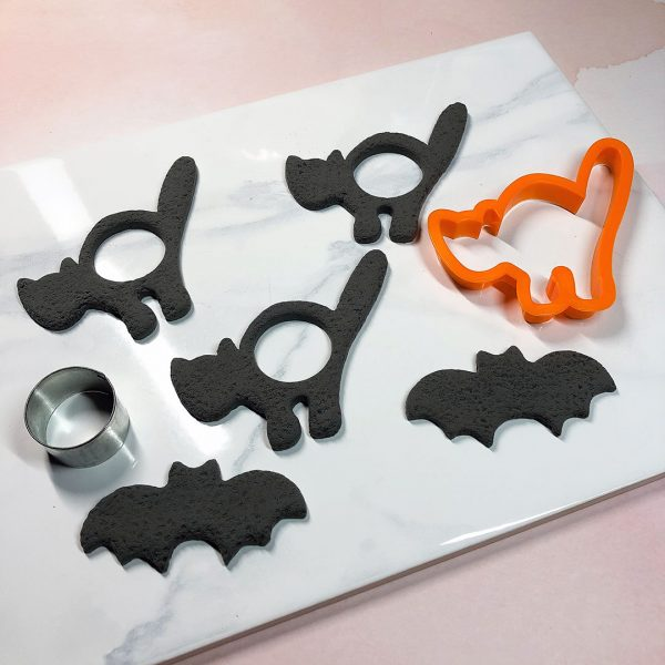 Clay & Resin Halloween Cookie Garland Tutorial