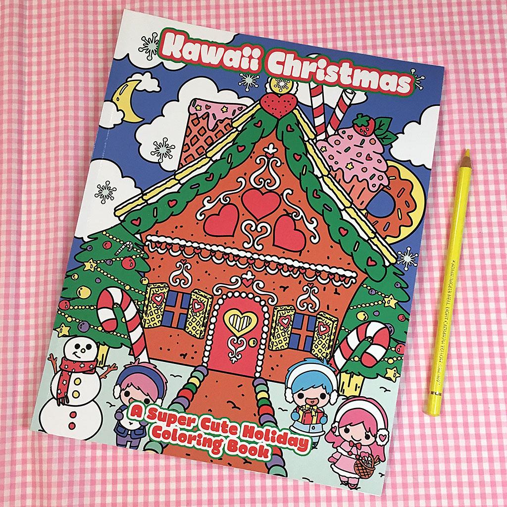 Kawaii Christmas Coloring Book Review