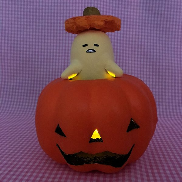 Gudetama Halloween Pumpkin DIY Tutorial