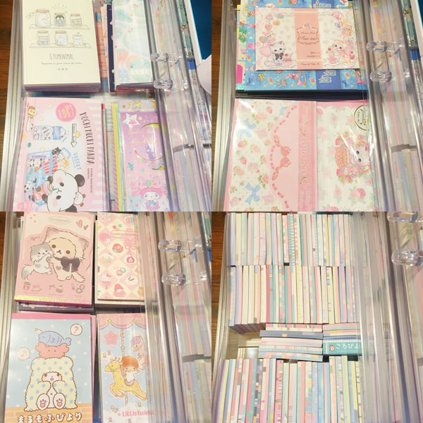 Kawaii Stationery Storage Ideas