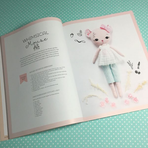 Gingermelon's Embroidered Animals Book Review