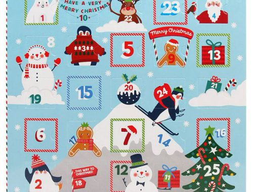 kawaii advent calendars - iwako erasers