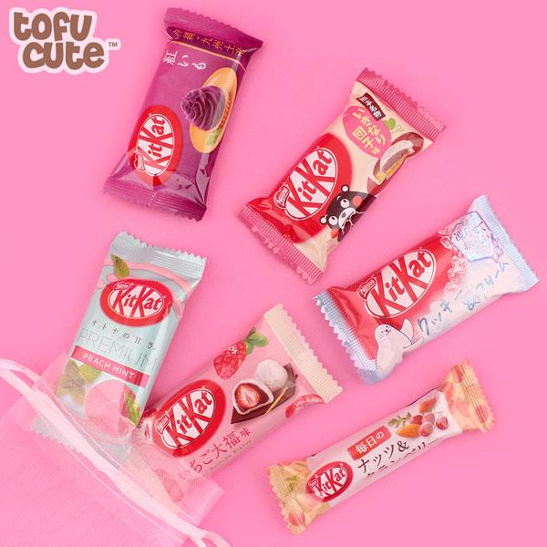 Japanese snacks - Kit Kats
