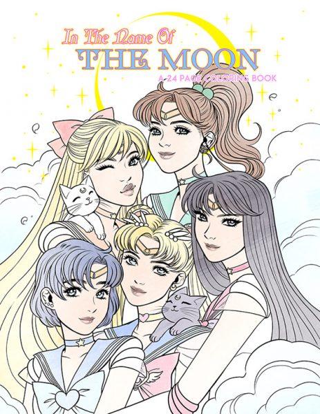 Kawaii Printable Coloring Pages - Sailor Moon