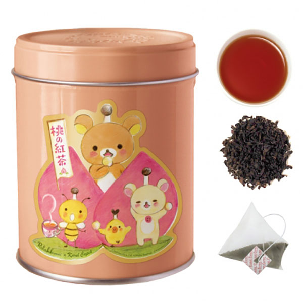 kawaii kitchen Rilakkuma tea tin