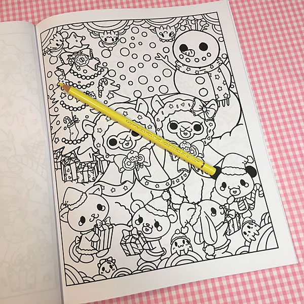 Kawaii Christmas Coloring Book Review