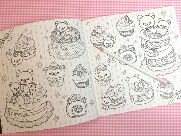 Rilakkuma Coloring Books Review
