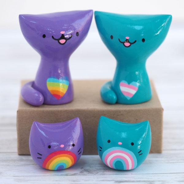 Shana Logic pride cats