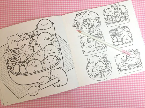 Sumikko Gurashi Coloring Books Review