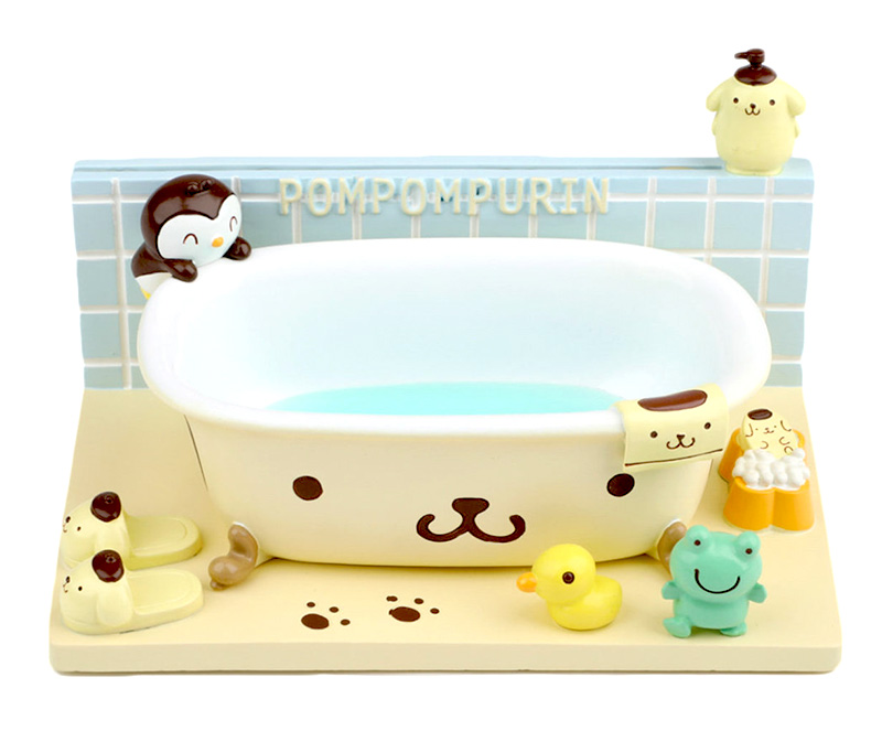 pompompurin kawaii bathroom accessories