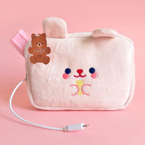 cute storage ideas - kawaii bunny pouch