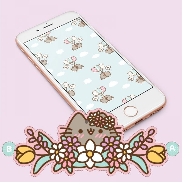 Pusheen free wallpapers and printables