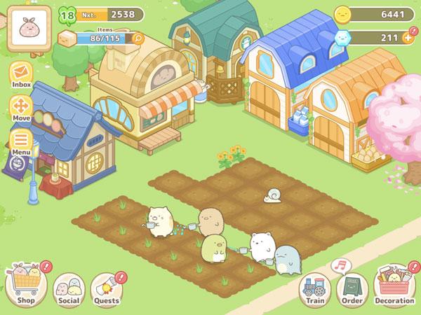 Sumikko Gurashi Farm Game