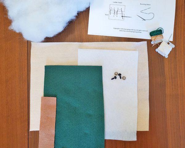 dinosaur plush sewing pattern