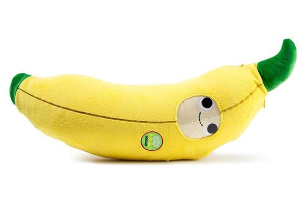 Yummy World banana kawaii plush