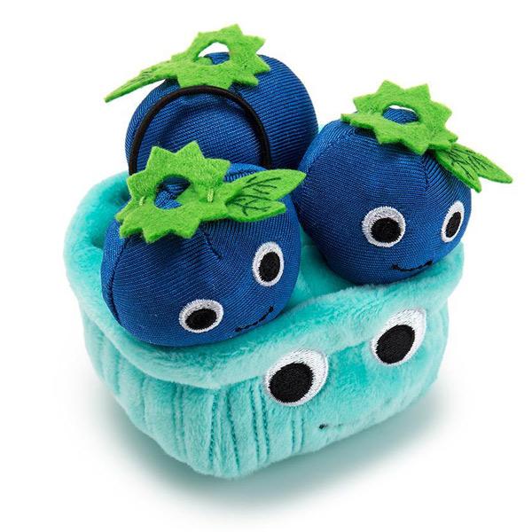 blueberries kawaii food plushies