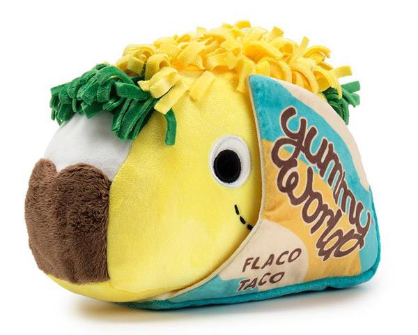 taco kawaii food plushies