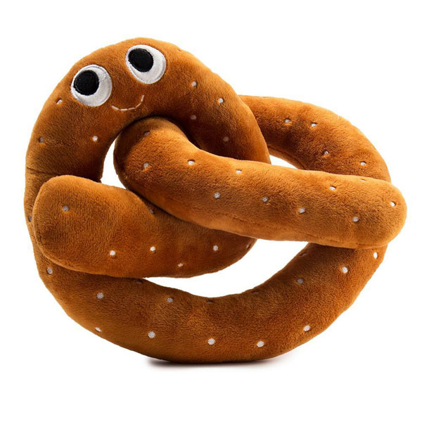 Yummy World pretzel kawaii plush