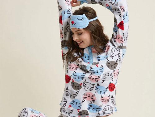 kawaii pajamas Modcloth cats