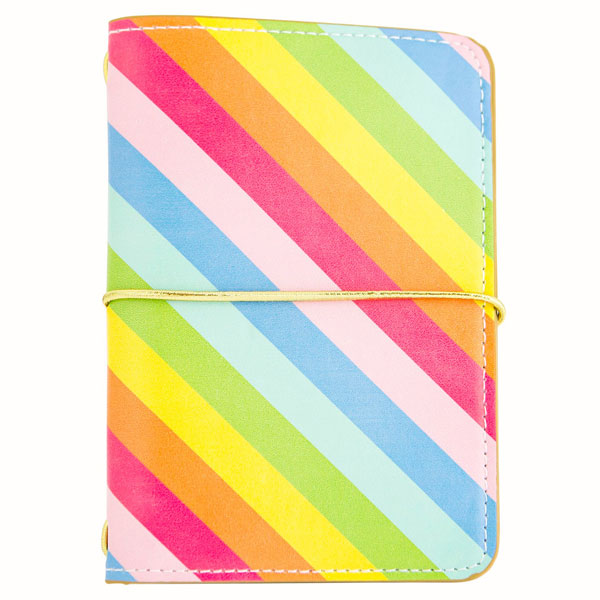 kawaii rainbow journal