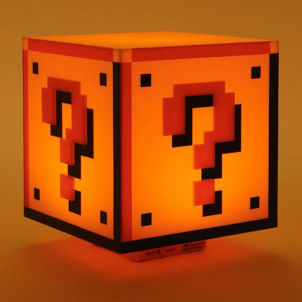 Super Mario Bros block light