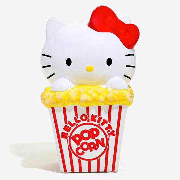 hello kitty popcorn coin bank