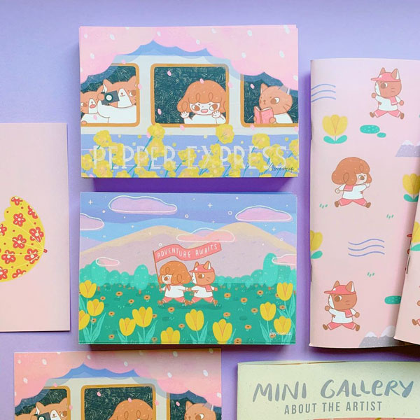 kawaii artist subscription boxes
