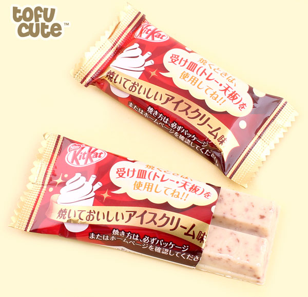 tofu cute ice cream kit kat
