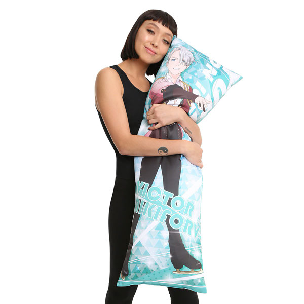 Yuri!!! on Ice body pillow
