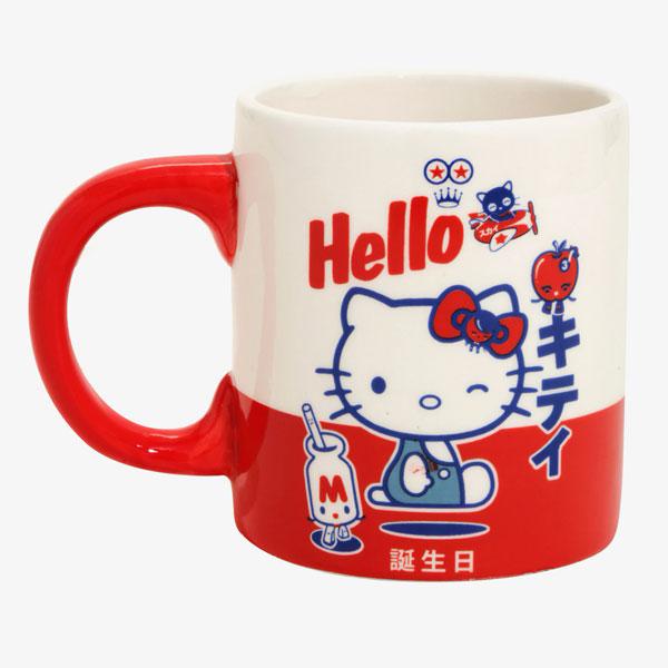 Sanrio x 64 Colors kawaii mug
