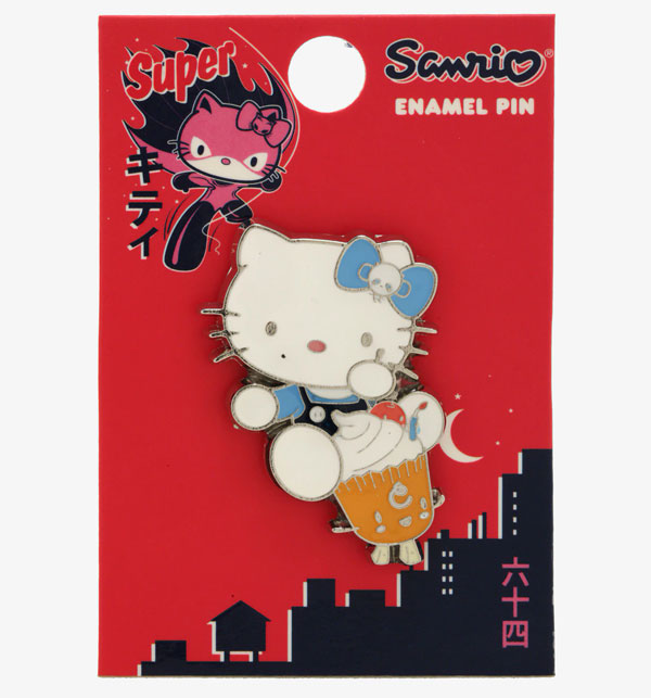 Sanrio x 64 Colors kawaii enamel pin