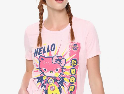 Sanrio x 64 Colors Hello Kitty tshirt
