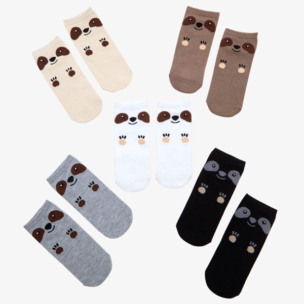 Kawaii Workout Gear - sloth socks
