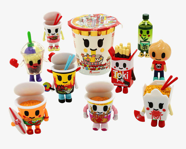 tokidoki Supermarket Besties blind box figures
