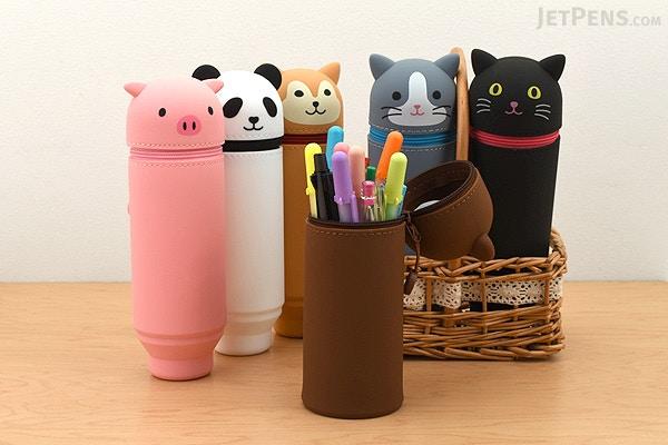 kawaii stationery - animal pencil cases