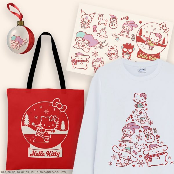 Kawaii Christmas Sanrio Hello Kitty