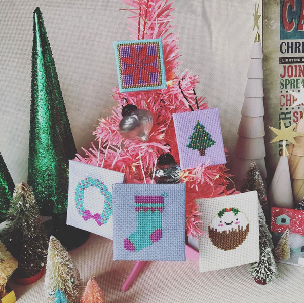 Free Christmas cross stitch patterns