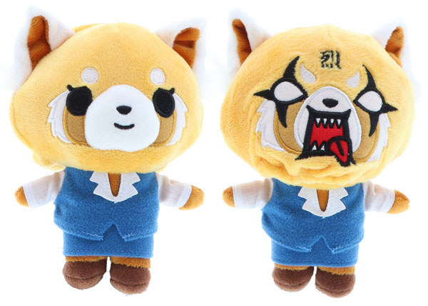 Aggretsuko reversible plush