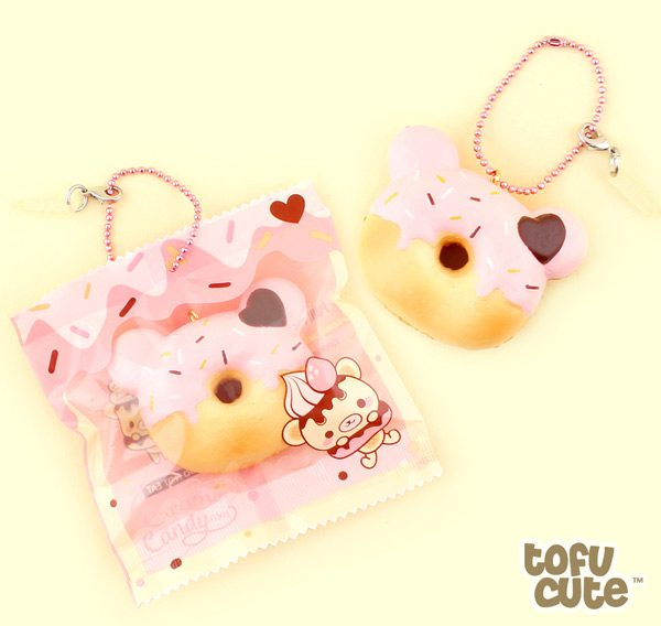 kawaii wish list - bear donut squishy