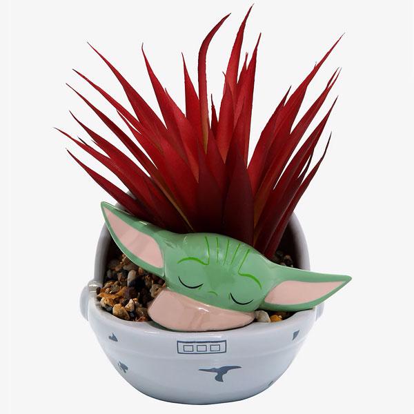 Grogu Baby Yoda planter