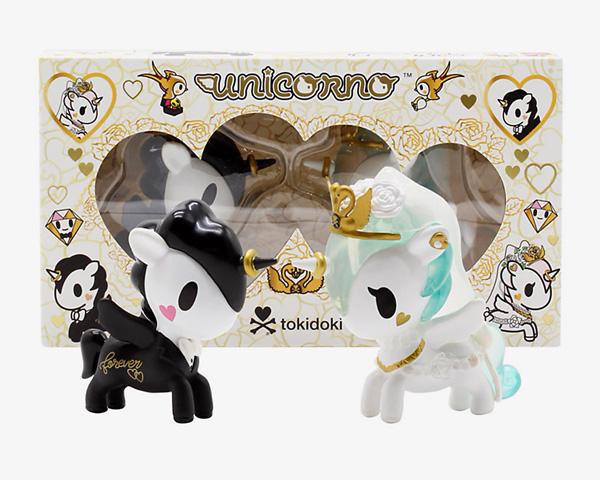 tokidoki Unicornos - wedding couple