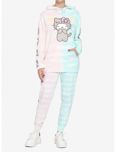Hello Kitty x Pusheen clothing