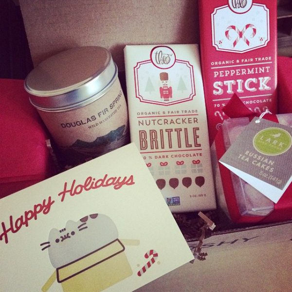 pusheen christmas hamper