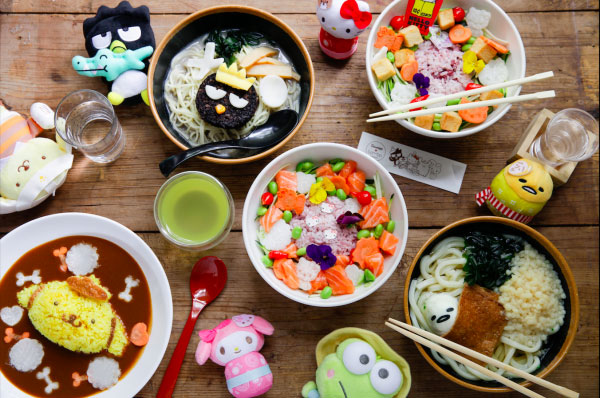 Hello Kitty & Friends at Tombo Japanese Cafe in London