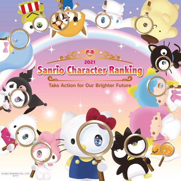 2021 Sanrio Character Ranking