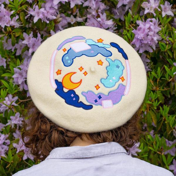 kawaii beret hats