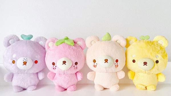 teddy bears kawaii plush