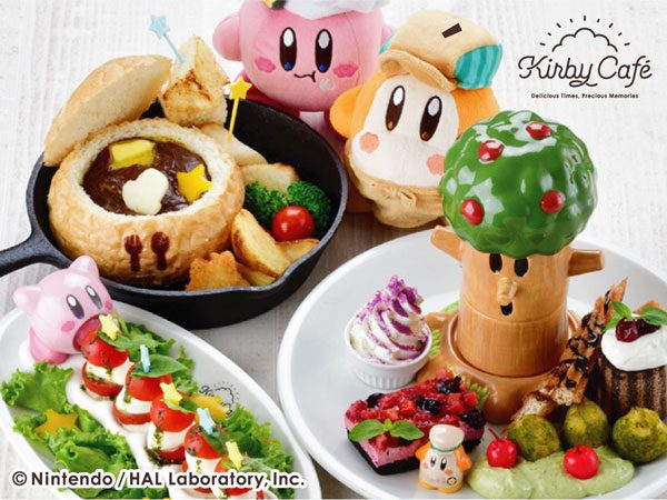 Kirby Character Cafes in Japan