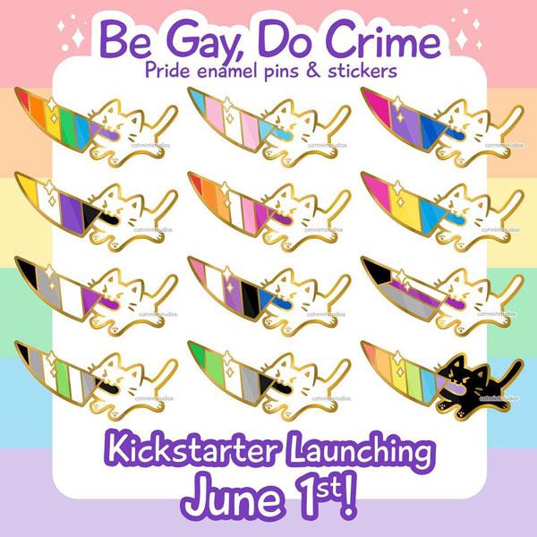 Pride Flags enamel pins