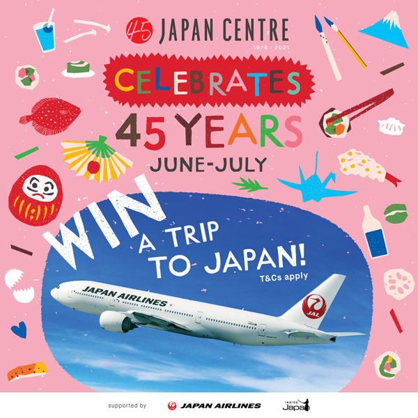 Japan Centre win a trip to Japan